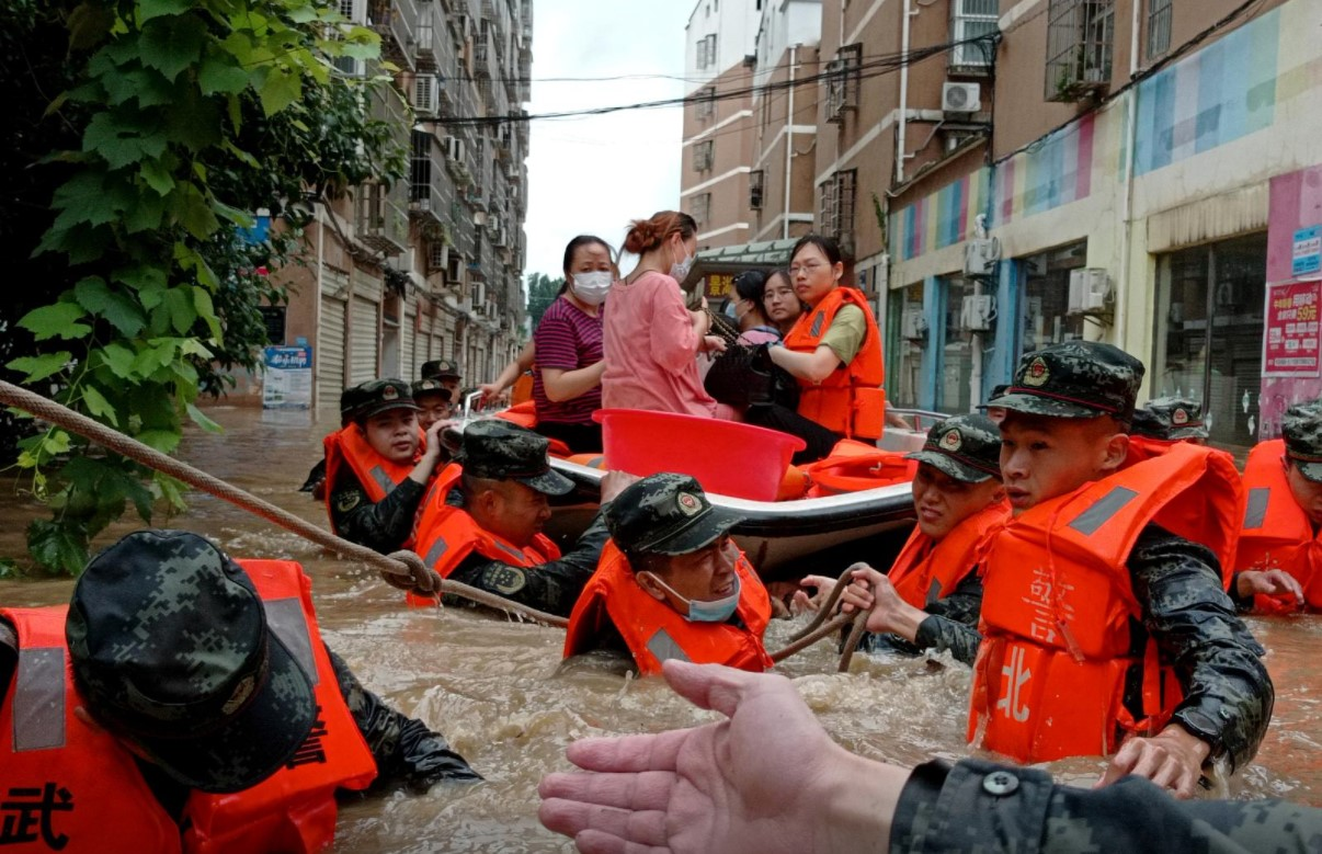 China, PRC, Flood, Weather-warning system, Disaster