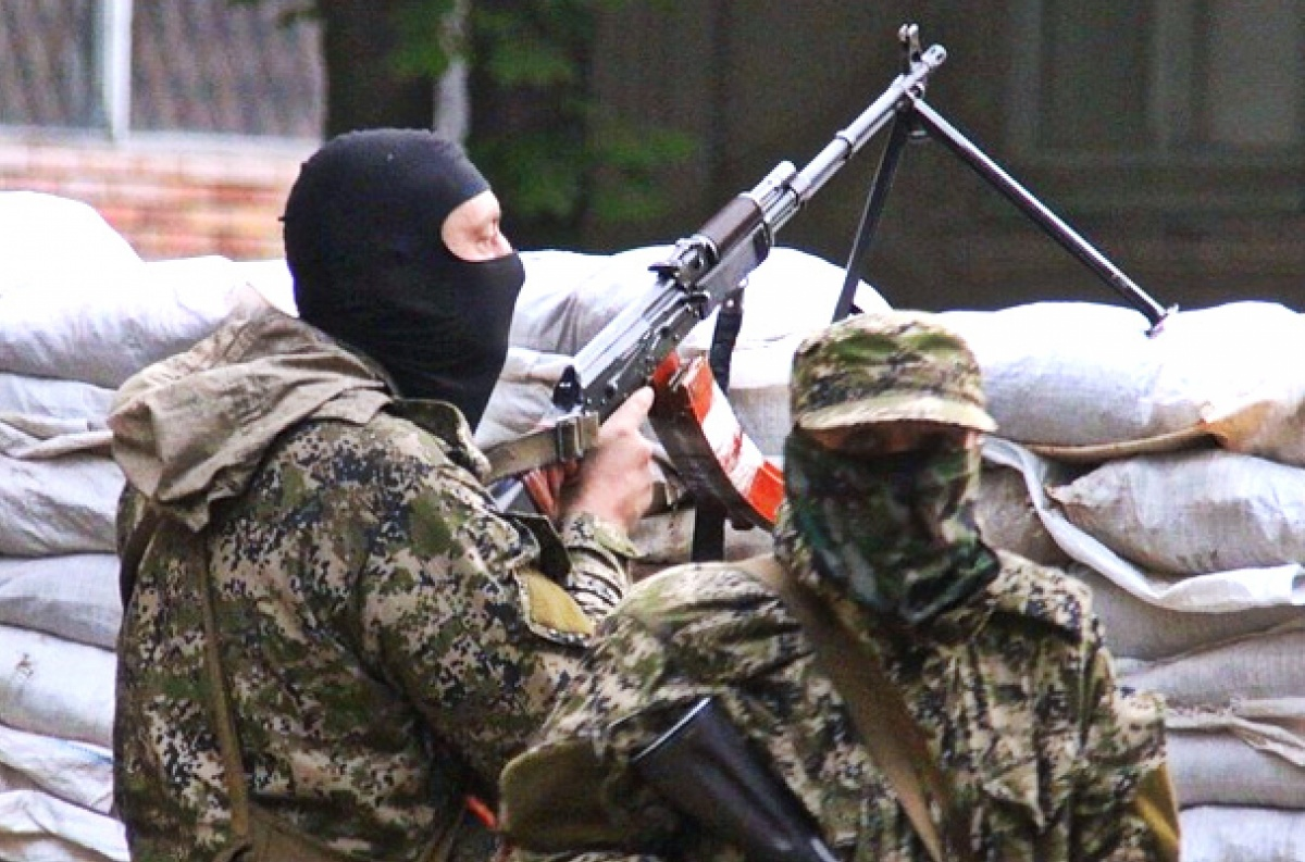 militants, shell, ATO forces
