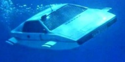 Автомобиль-амфибия Lotus Esprit Submarine Car. Кадр из фильма